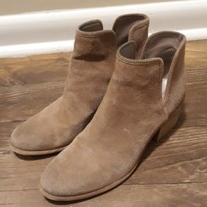 Hinge Leather boots shoes sz.9
